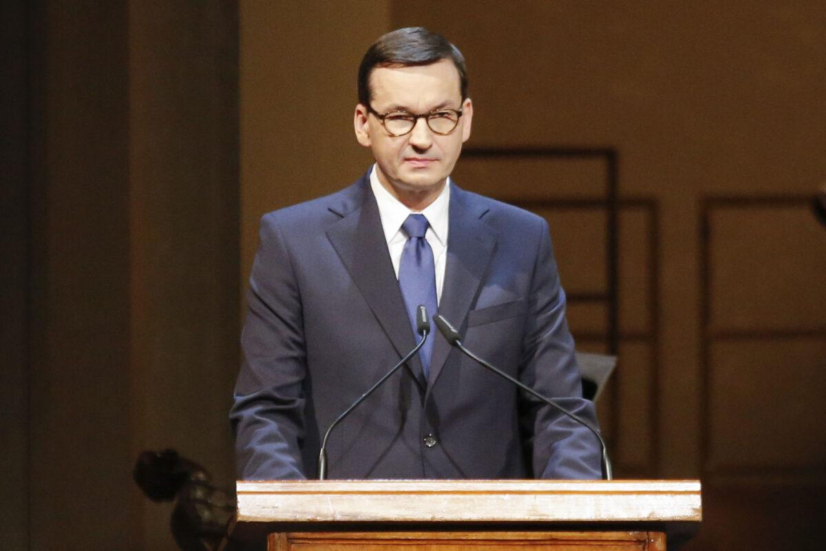 polsky premier Mateusz Morawiecki