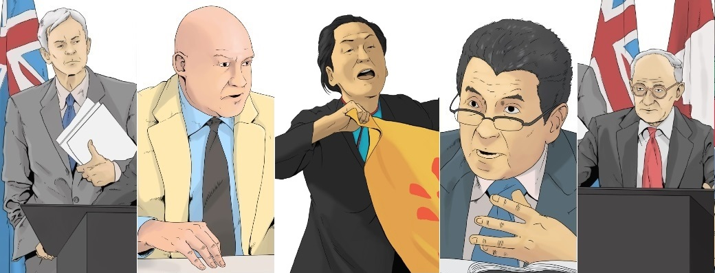 In the comic book will appear more than a dozen characters of real people. They have been involved in the investigation of serious crimes in China since 2006. Three of them were nominated for the Nobel Peace Prize for their work. (courtesy of Davids and Goliath)