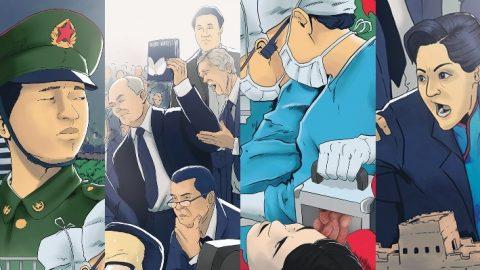 Český komiksový projekt ovyšetřování zločinů vsoučasné Číně vstoupí na HitHit
