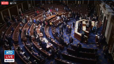 Došlo ke zpochybnění volebních výsledků zPensylvánie, Kongres se podruhé odebral kdebatě