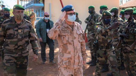 Mise českého velení vMali splněna, navzdory pandemii