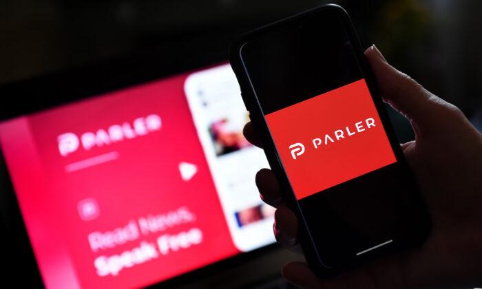 Platforma Parler již brzy opět poběží, říká její zakladatel John Matze. (Olivier Douliery / AFP přes Getty Images)