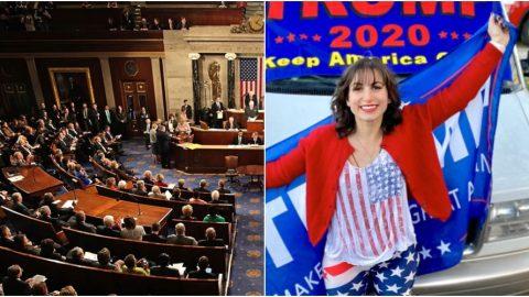 Upozornění: Přímý přenos zjednání Kongresu USA azprotestů ve Washingtonu (6.ledna 2021)