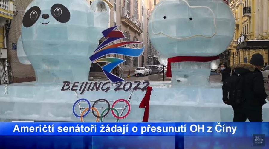Američtí senátoři žádají přemístění zimních Olympijských her 2022 z Číny. (Screenshot / YouTube)
