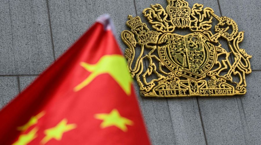 velka británie čína