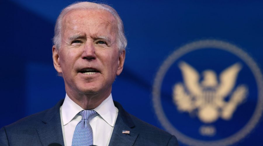 Joe Biden 6. ledna 2021. (Chip Somodevilla/Getty Images)