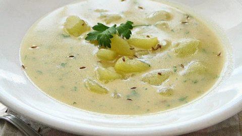 Recept: Kmínová polévka