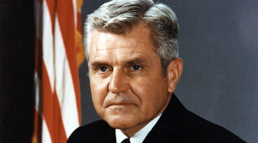 Formal Naval Officer PortraitVice Admiral James B. Stockdale, USN