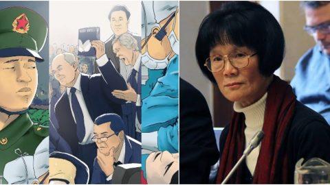 Paní Yumei Liu darovala peníze na českou komiksovou knihu ozneužívání politických vězňů vČíně