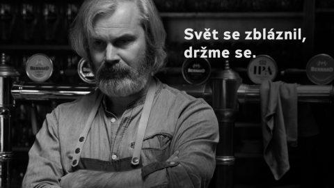 """""""Svět se zbláznil, držme se,"""" vzkazuje lidem Stanislav Bernard"""