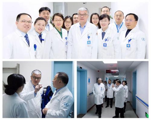 Lékařský Tým Z Oddělení Nukleární Medicíny Přidružené Nemocnice Univerzity Qingdao. Ilustrační Foto. (qingdao.chinadaily.com.cn)