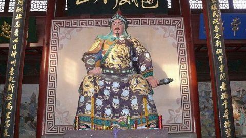 Tetování na zádech generála Jüe Feje (příběh ze staré Číny)