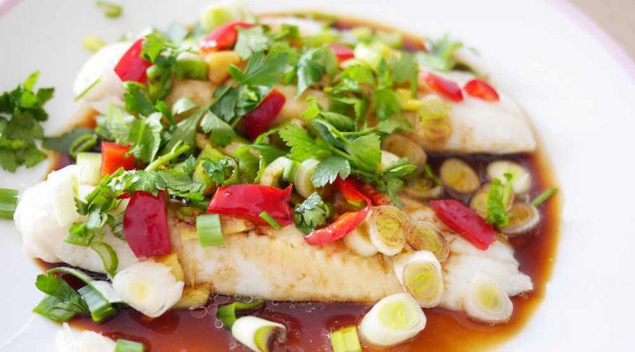 ryba na pare recept