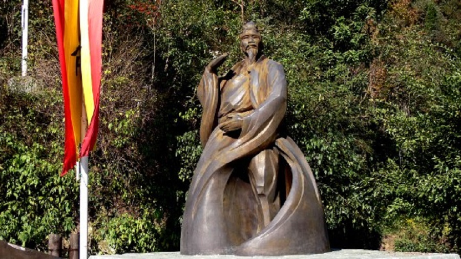 Socha Čang San-fenga na hoře Wu-tang. (Gisling/CC BY 3.0)
