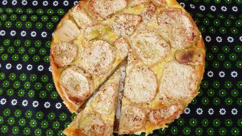 Recept: Bavorský jablečný koláč