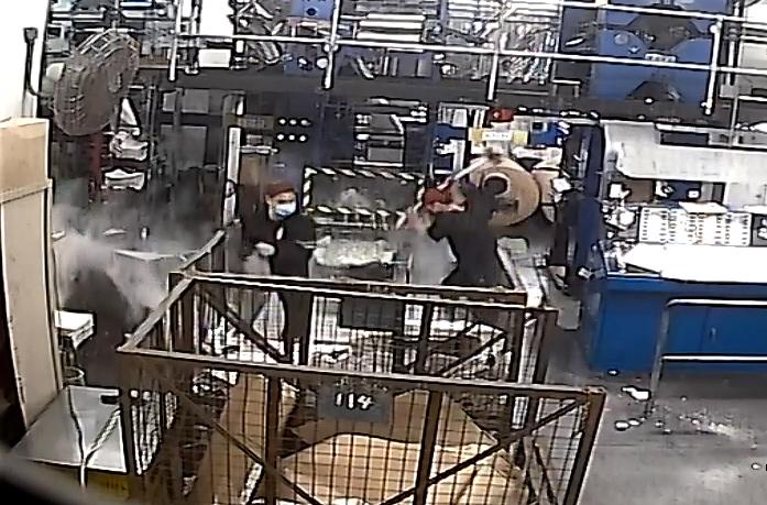Epoch Times Printing Press Attack Hong Kong 1