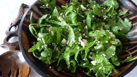 Recept: Salát srukolou afeta