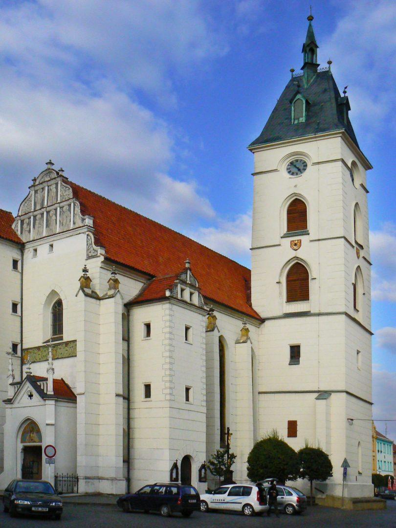Vodnany Kostel