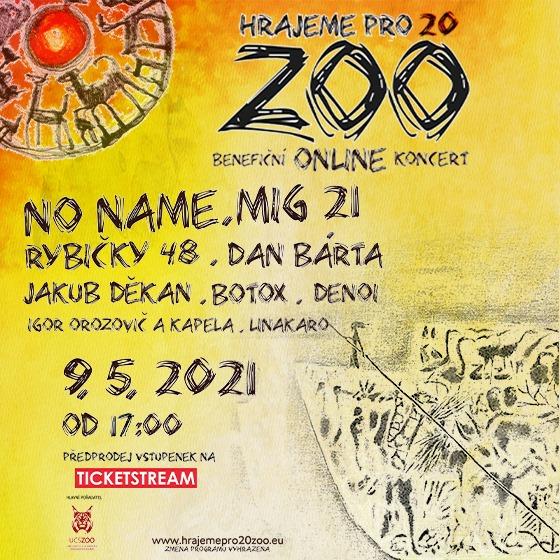 Plakát na koncert OenAir
