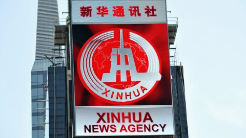 """Čínská státní tisková agentura Sin-chua se vUSA zaregistrovala jako """"zahraniční agent"""""""