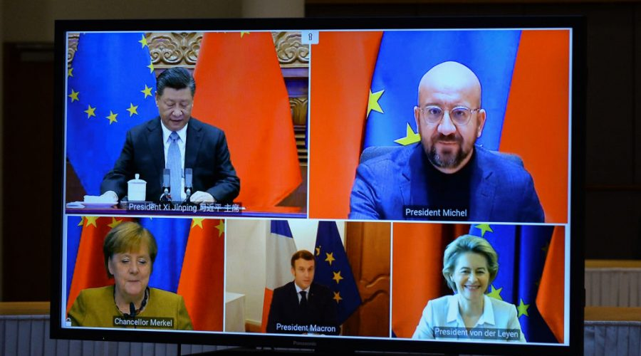 EU BELGIUM CHINA POLITICS ECONOMY TRADE