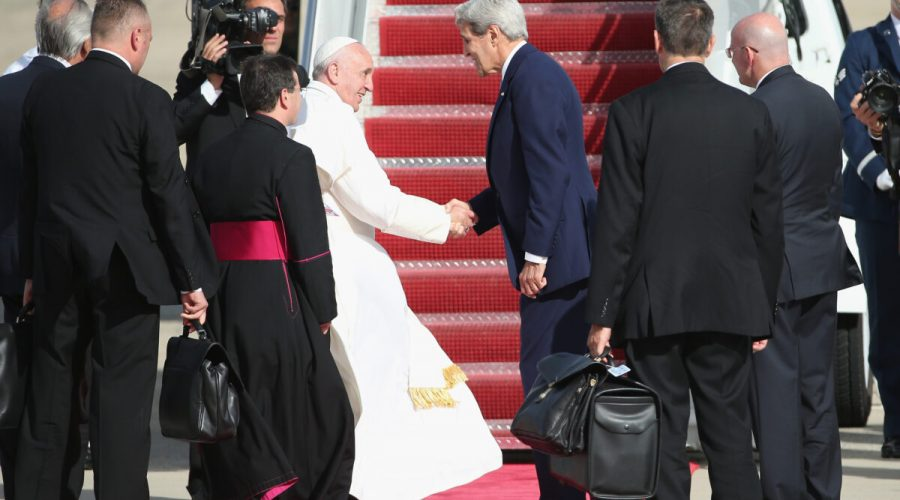 papež usa