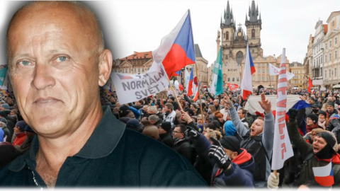 Jan Hnízdil: Je čas občanské neposlušnosti. To, co vláda dělá, je protiústavní aprotizákonné