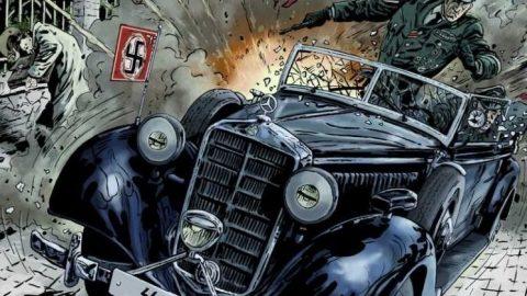 Komiks: Anthropoid aneb zabili jsme Heydricha