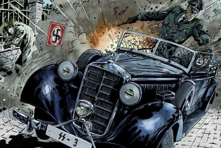 Komiks: Anthropoid aneb zabili jsme Heydricha. (Kosmas.cz)