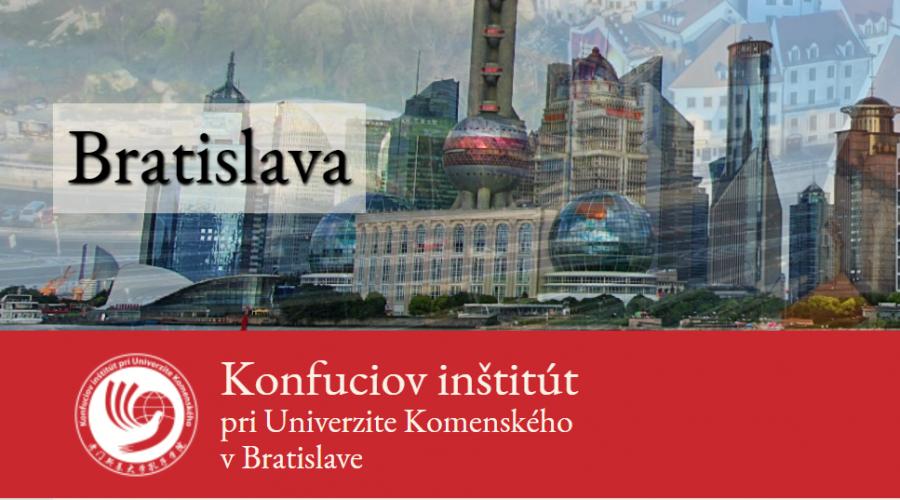 Screenshot Stránek Konfuciova Institutu V Bratislave