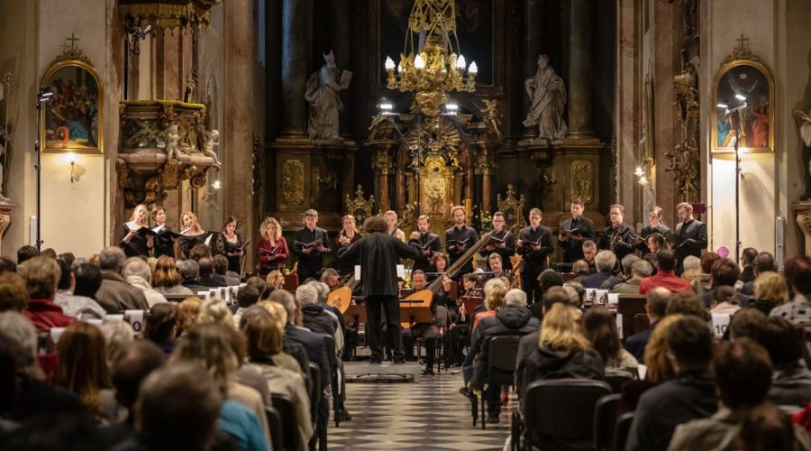 Czech Ensemble Baroque u Minoritů, kostel sv. Janů