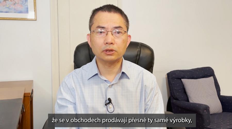Cinsky Politicky Vezen William Huang Vypovida Pro Poslaneckou Snemovnu