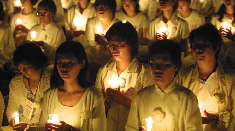 Falun Gong Rally
