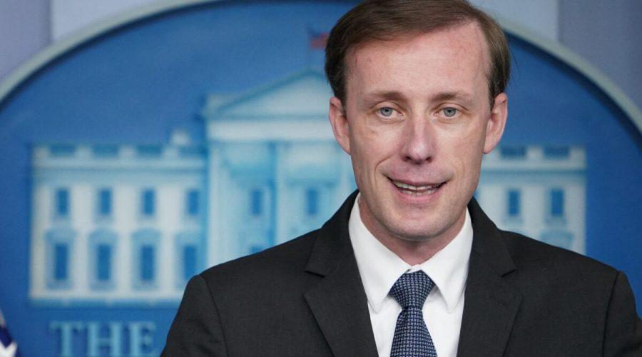 Poradce pro národní bezpečnost Jake Sullivan hovoří během každodenního brífinku v Bradyho brífinkové místnosti Bílého domu ve Washingtonu, 7. června 2021. (Mandel Ngan / AFP via Getty Images)