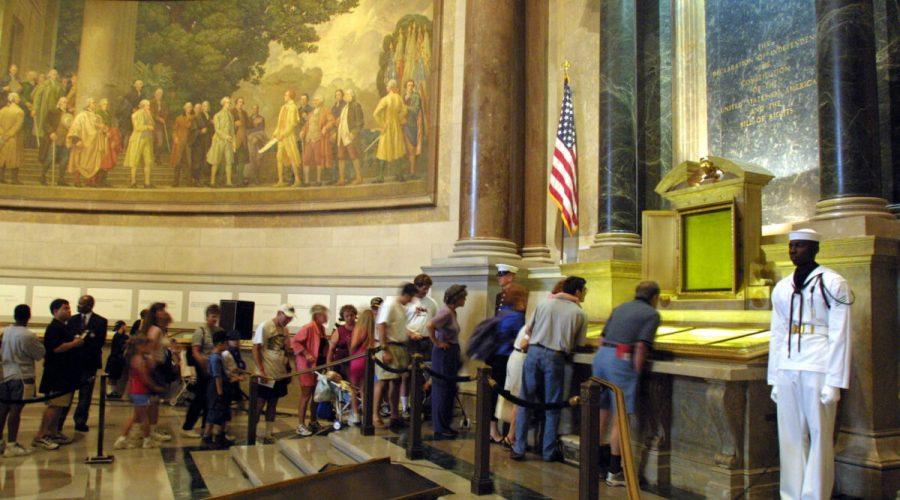 Historical U.S. Documents On Display