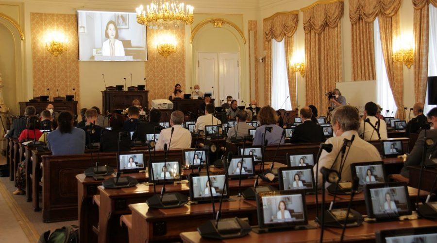 The Petitions Committee of the Chamber of Deputies of the Czech Republic held a public hearing on 8 June 2021, with several experts on China, representatives of NGOs and victims of the Communist Party's violent repression in China. (Lukáš Kruťa Epoch Times)