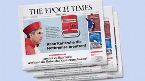 Německá redakce Epoch Times spustila tištěné vydání