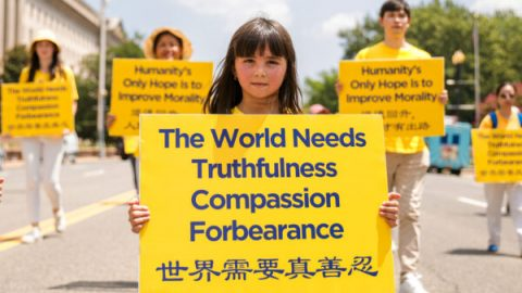 Celosvětové protesty za ukončení pronásledování Falun Gongu vČíně