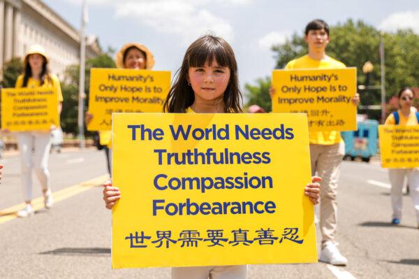Transparent: Svět potřebuje pravdivost, soucit a snášenlivost. (Fotogalerie: Samira Bouaou a Larry Dye / The Epoch Times)