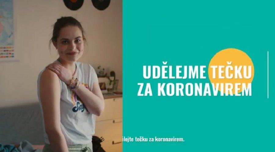Screenshot z reklamní kampaně ministerstva zdravotnictví ČR, která slibuje ukončení nošení roušek, testování a omezení, pokud se necháte očkovat. (Screenshot / YouTube)