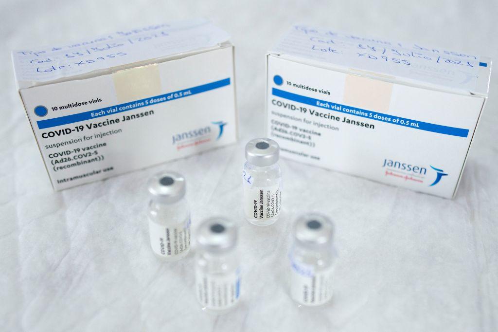 vakcínou Johnson & Johnson