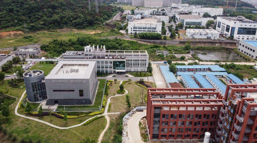 Laboratoř se stupněm ochrany P4 v areálu Wuchanského virologického institutu, Wu-chan, centrální čínská provincie Chu-pej, 13. května 2020. (Hector Retamal / AFP via Getty Images)