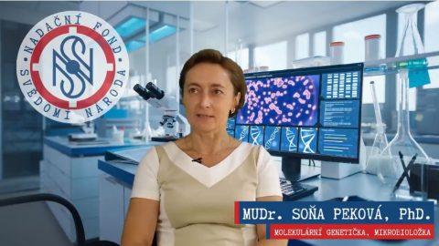 Soňa Peková: To, že povpichu bolí rameno, neřeším. Jde opanglobální experiment