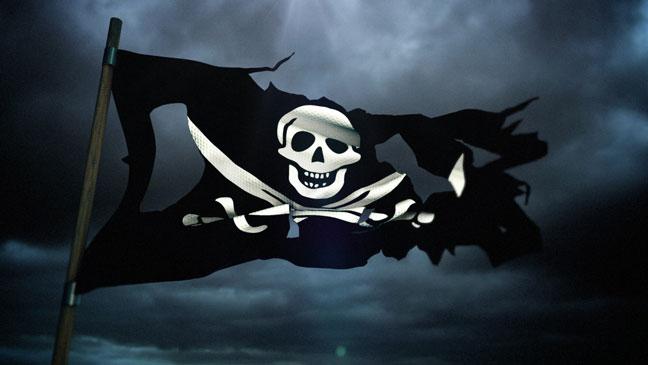 Pirátská vlajka, ilustrační foto. (konzervativninoviny.cz)