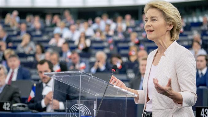 Předsedkyně Evropské komise Ursula von der Leyenová. (Konzervativninoviny.cz)