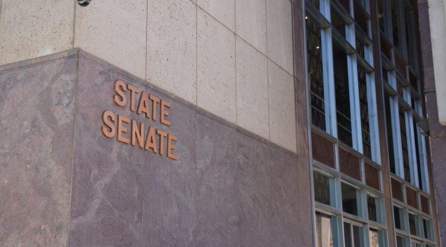 Senát státu Arizona ve Phoenixu, 2. srpna 2021. (Allan Stein/The Epoch Times)