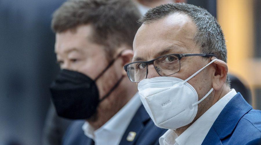 Jaroslav Foldyna, poslanec strany SPD. Poslanecká sněmovna, Praha, 4. května 2021. (PETR TOPIČ / MAFRA / Profimedia)