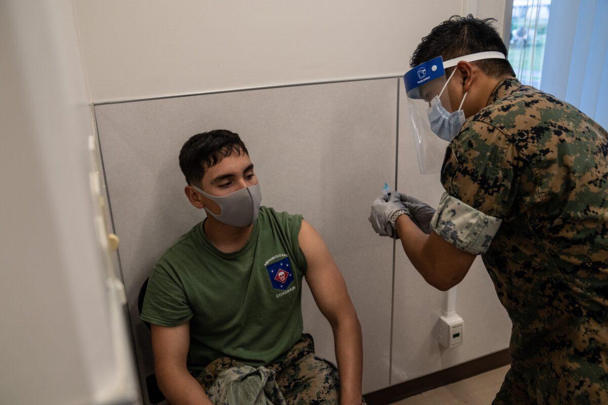 vakciny usa armada