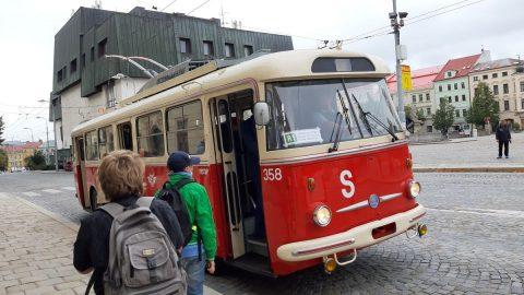 Retro jízdami MHD vJihlavě byl zakončen Evropský týden mobility