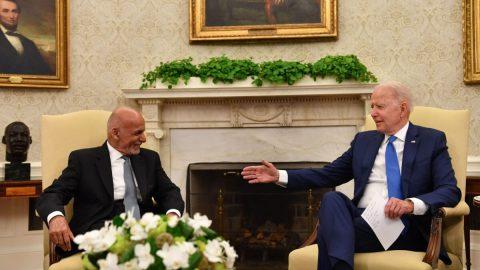 USA: Republikáni požadují plný přepis telefonátu prezidenta Bidena safghánským protějškem